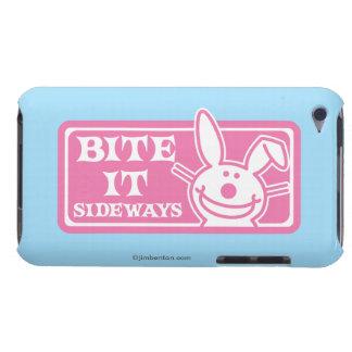 Bite it Sideways iPod Case-Mate Cases