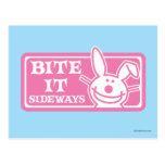 Bite it Sideways Postcard