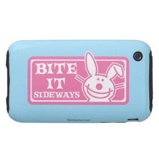 Bite it Sideways Tough iPhone 3 Cover