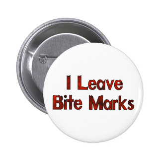 Bite Marks Pinback Buttons