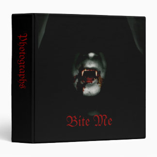 "Bite Me 1.5"" Photo Album 3 Ring Binder"