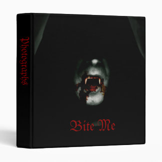 "Bite Me 1"" Photo Album Binder"