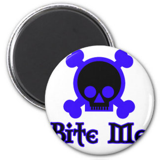 Bite Me 2 Inch Round Magnet