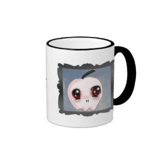 Bite Me Apple Vampire Mug