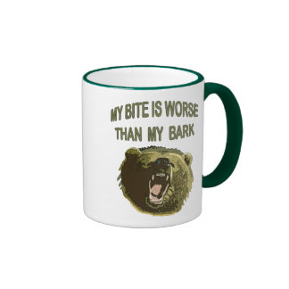 Bite Me Bear Mugs