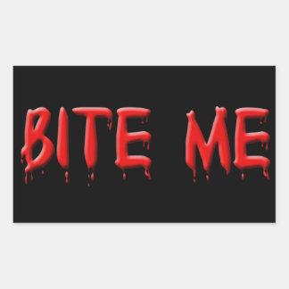 Bite Me Blood Stickers