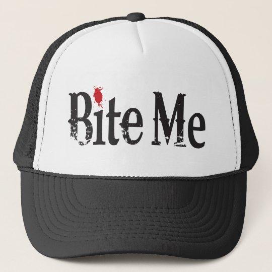 Bite Me (Blood) Trucker Hat