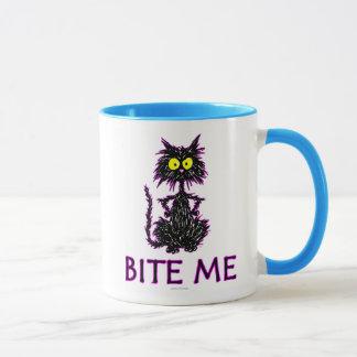 Bite Me! Cat Gift Designs Mug