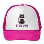 Bite Me! Cat Gift Designs Trucker Hat