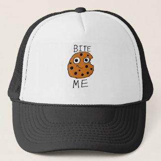 Bite Me Cookie Trucker Hat