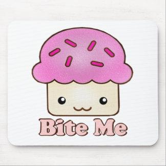 Bite Me Cupcake Mouse Pad