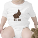 Bite Me Easter Bunny T Shirt