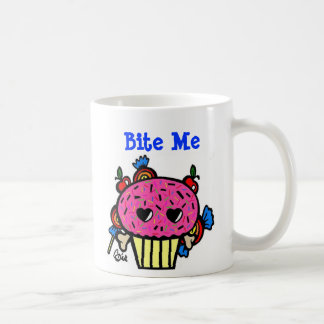 Bite me/Evil Cupcake Mug