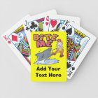 Bite Me Fishing Playing Cards