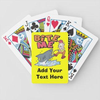 Bite Me Fishing Playing Cards