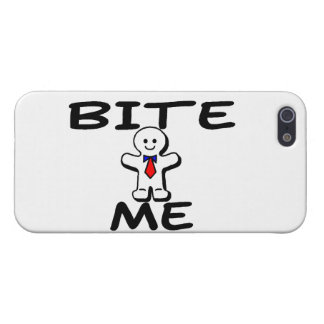 Bite Me Gingerbread Man Case For iPhone SE/5/5s