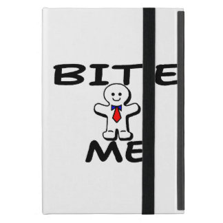 Bite Me Gingerbread Man iPad Mini Case