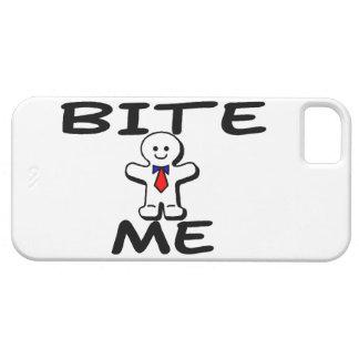 Bite Me Gingerbread Man iPhone SE/5/5s Case