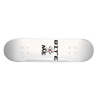 Bite Me Gingerbread Man Skateboard