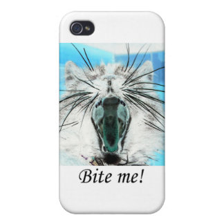 bite me iPhone4 case iPhone 4 Cover