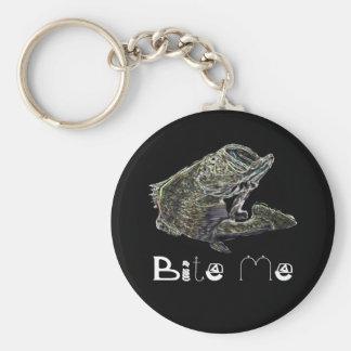 Bite Me Key Chain