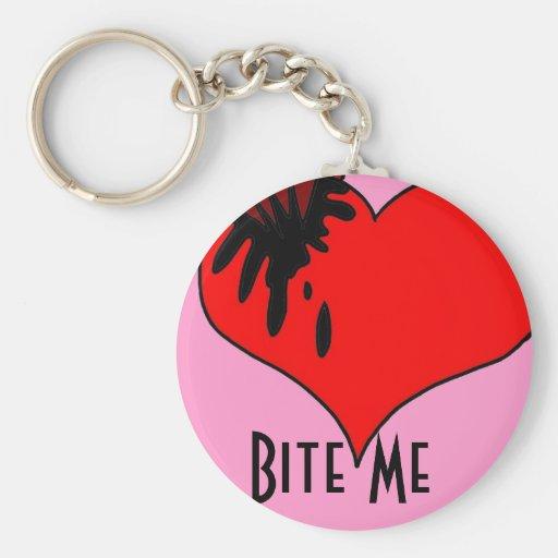 Bite Me Key Chains