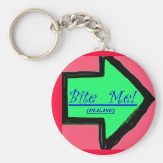 """""""Bite Me"""" Keychain"""