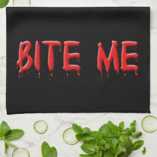 Bite Me Kitchen Towel