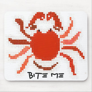 Bite Me Mousepad