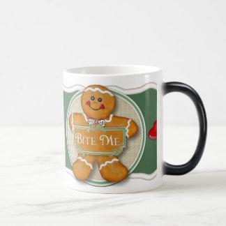 Bite Me 11 Oz Magic Heat Color-Changing Coffee Mug