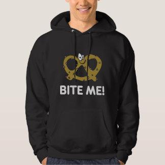 Bite Me Pretze Blackl T-Shirt