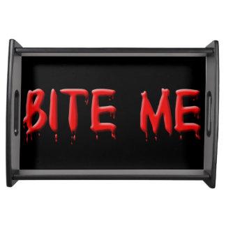 Bite Me Serving Tray