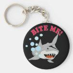 Bite Me Shark Keychain