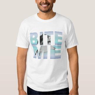 """Bite Me"" Shark Photo T-shirt"