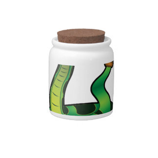 bite me snake candy jar