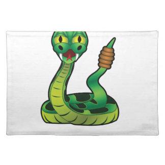 bite me snake placemat