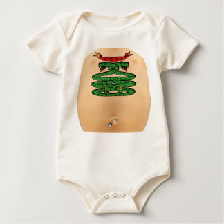 "'BITE ME"" TATTOO & PIERCING BABY BODYSUITS"