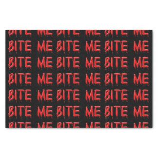 """Bite Me Tissue Paper 10"""" X 15"""" Tissue Paper"""