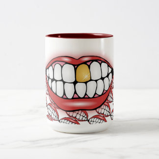 Bite Me Two-Tone Coffee Mug
