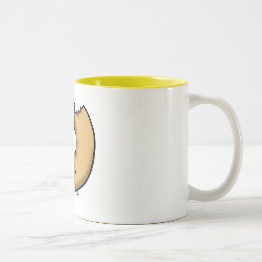 Bite me. Two-Tone coffee mug