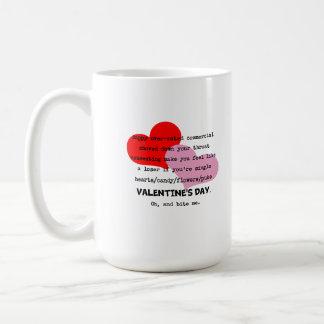 Bite Me Valentine's Day mug