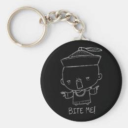 Bite Me! Vampire Keychain