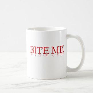 Bite me Vampire Coffee Mugs