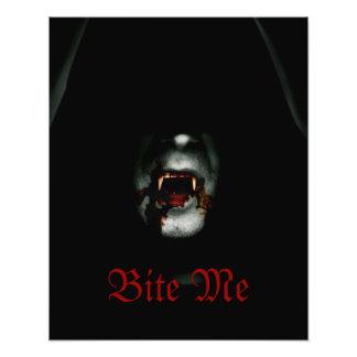 Bite Me Vampire Art Photo