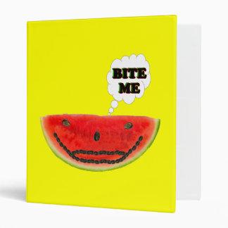 Bite Me Watermelon Binder