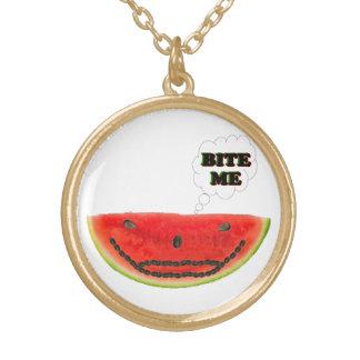 Bite Me Watermelon Necklace