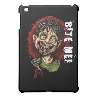 Bite Me Zombie Boy and Turtle Case For The iPad Mini