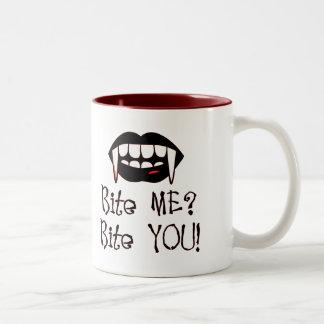 Bite You!, Bite You! Two-Tone Coffee Mug