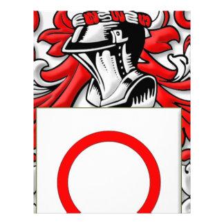 Bitetto Coat of Arms Letterhead Design