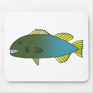 Bitey Fish 2014 Mouse Pad